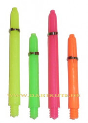 Neon Nylon Shaft mit Ringen